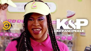 "A new employee at a frozen yogurt shop discovers the hidden cost of unlimited froyo.  About Key & Peele:  Key & Peele showcases the fearless wit of stars Keegan-Michael Key and Jordan Peele as the duo takes on everything from ""Gremlins 2"" to systemic racism. With an array of sketches as wide-reaching as they are cringingly accurate, the pair has created a bevy of classic characters, including Wendell, the players of the East/West Bowl and President Obama's Anger Translator.   Subscribe to Comedy Central: https://www.youtube.com/channel/UCUsN5ZwHx2kILm84-jPDeXw?sub_confirmation=1  Watch more Comedy Central: https://www.youtube.com/comedycentral   Follow Key & Peele: Facebook: https://www.facebook.com/KeyAndPeele/ Twitter: https://twitter.com/keyandpeele Watch full episodes of Key & Peele: http://www.cc.com/shows/key-and-peele  Follow Comedy Central: Twitter: https://twitter.com/ComedyCentral Facebook: https://www.facebook.com/ComedyCentral/ Instagram: https://www.instagram.com/comedycentral/  #KeyandPeele"