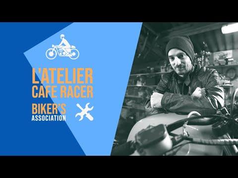 L'ATELIER CAFÉ RACER #01 - LE GARAGE ASSOCIATIF [SIMON'S GARAGE]