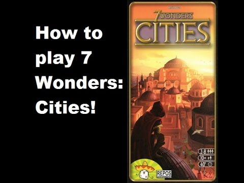 How to play 7 Wonders: Cities expansion