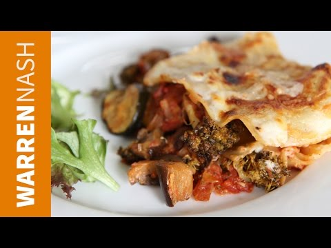 Vegetarian Lasagna Recipe - Easy Italian at Home - Recipes by Warren Nash