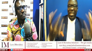 Laying on of hands 2-Starr radio interview with Rev. Kabutey