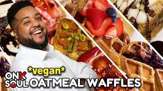 VEGAN OATMEAL WAFFLES | Feeding The Soul Full Episode 7