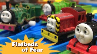 """トーマス プラレール ガチャガチャ きょうふのかしゃのおと Tomy Plarail Thomas """"Flatbeds Of Fear"""""""
