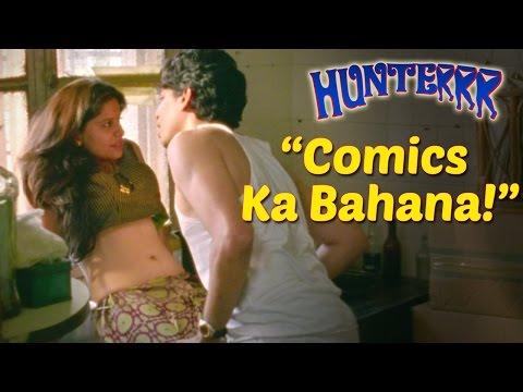 Comics Ka Bahana! | Hunterrr Promo | Gulshan Devaiah, Radhika Apte, Sai Tamhankar