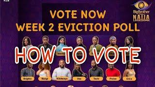 BBNaija Lockdown 2020  How To Vote || BBNaija Season 5