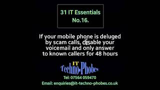 IT Techno-Phobes Limited Tip 16 – IT Support Services In Dudley