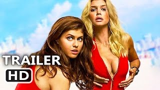BAYWATCH Official Trailer # 3 (2017) Dwayne Johnson, Zac Efron, Alexandra Daddario Comedy Movie HD