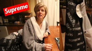"MOM REACTS TO ME SPENDING ""$500"" ON A SUPREME JACKET"