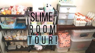 MY SLIME ROOM TOUR || (Philippines) PinkFlowerSlimes