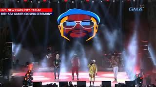 SEA Games 2019: Closing Ceremony - Black Eyed Peas performs The APL Song