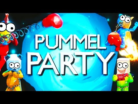MORE NEW GAMES! - Pummel Party with The Crew!