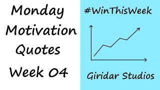 Top 10 Quotes | Monday Motivation Part - 4 | Transform Your Life | Giridar Studios