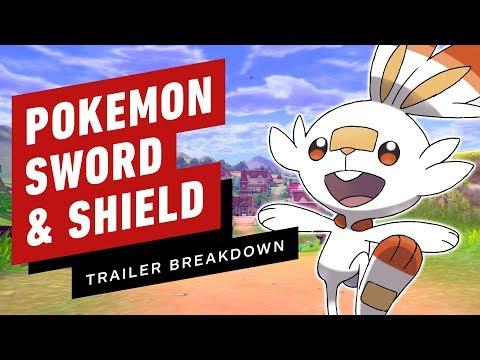 , title : 'Pokemon Sword and Shield Trailer Breakdown: Gen 8 Starters, Legendary Hints & Easter Eggs'