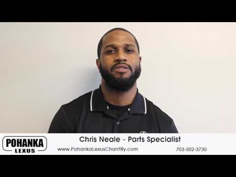 Parts Specialist Chris Neal