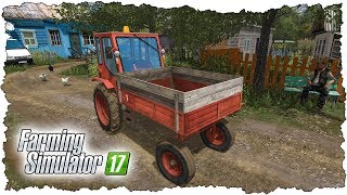 ФЕРМЕР КУПИЛ СТАРЕНЬКИЙ ТРАКТОР Т-16! FARMING SIMULATOR 17