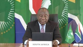 Cyril Ramaphosa, President of South Africa