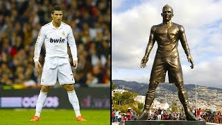 Statues Of The Most Famous Footballers