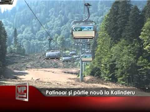 Patinoar şi pârtie nouă la Kalinderu