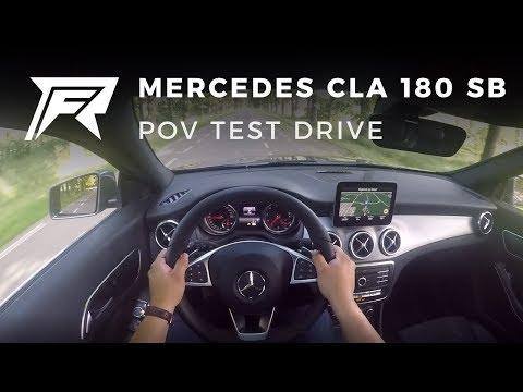 Mercedesbenz Cla Class Shooting Brake Универсал класса C - тест-драйв 3