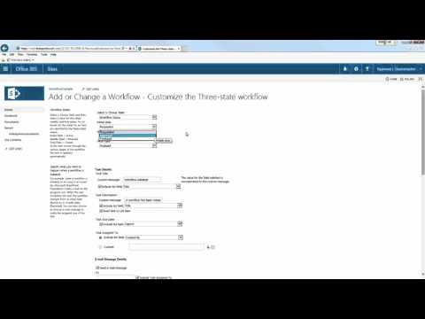 SharePoint Workflow Introduction - YouTube