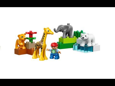 Vidéo LEGO Duplo 4962 : Le zoo des bébés animaux