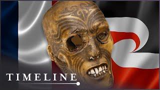The Fabulous Story Of The Mummified Maori Head (New Zealand History Documentary)   Timeline