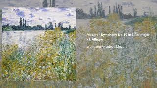 Symphony no. 19 in E-flat major, K. 132