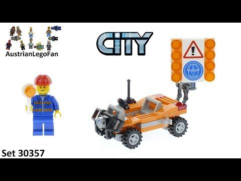 Vidéo LEGO City 30357 : Les travaux routiers (Polybag)