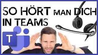 Der Microsoft Teams Headset & Mikrofon Test