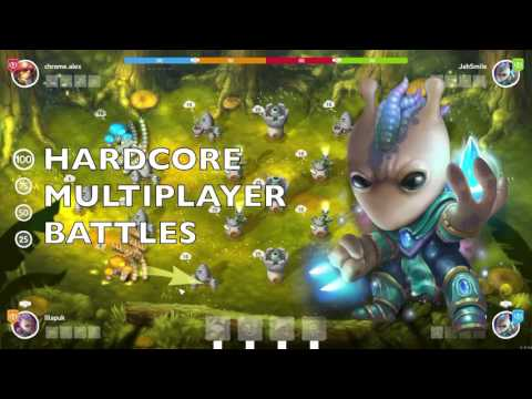 Mushroom Wars 2 gameplay trailer thumbnail