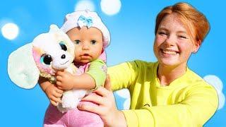 Wo ist Baby Born Annabelle? Spielzeugvideo für Kinder.