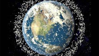 Как люди загадили космос.Космический мусор.