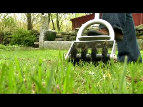 Lawn repair with the revolutionary Grass Stitcher-MUST SEE!