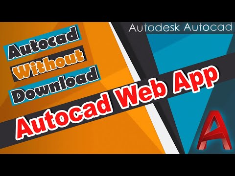 Autocad Web Application Online - How to Draw, Edit, and Access ur Autocad  Drawing Online    Easily
