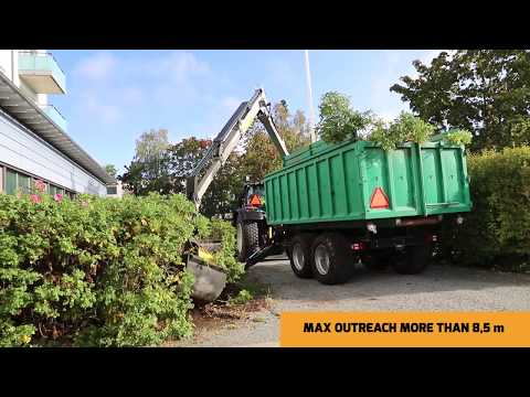 KESLA 124HD & 304T Rosebush removal ENG