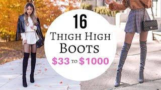16 Thigh High Boots Try-on | $33 To $1000 SHEIN ALDO ROMWE STUART WEITZMAN