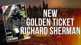 GOD LIKE Golden Ticket! New Richard Sherman! ::-XBOX ONE Madden 16 Ultimate Team