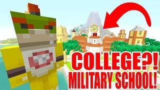 BOWSER JR'S COLLEGE?! MILITARY SCHOOL?!   Nintendo High School   Minecraft [78]