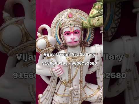 Mini Hanuman Ji Marble Statue