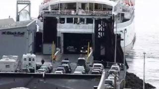 Black Ball Victoria BC ferry at Port Angeles WA