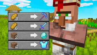 9 Broken Ways To Trade With Villagers!
