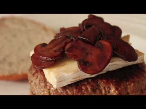 Pinot-Glazed Mushroom Burger Topping Recipe – Red Wine-Glazed Mushrooms