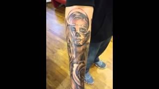 Dia de los muertos tattoo MorningStar Tattoos