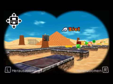 sm64 shifting sand land in super mario 3d land custom level