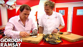 Gordon Ramsay Teaches Rob Brydon How To Shuck An Oyster | The F Word FULL EPISODE by Gordon Ramsay