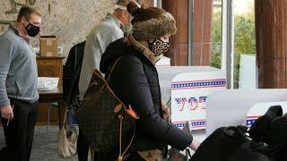 Early voting underway in battleground state Wisconsin   AFP