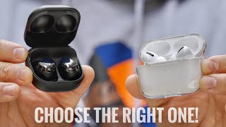 Galaxy Buds Pro vs Airpods Pro: Choose the RIGHT one!