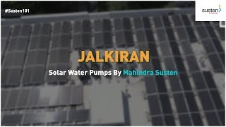 Solar Water Pumps by Mahindra Susten making its mark on the industry