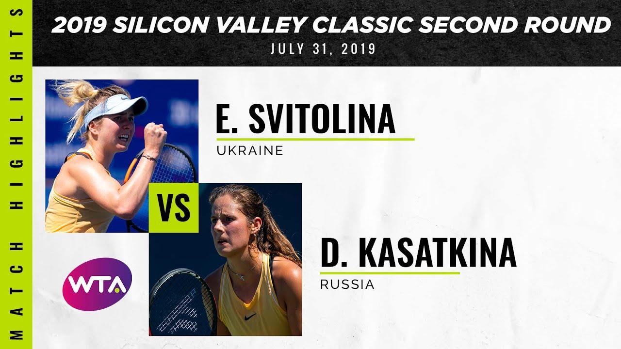 Обзор матча Элина Свитолина - Дарья Касаткина на турнире в Сан-Хосе (ВИДЕО)