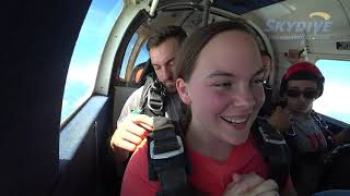 Cassandra Lee's Tandem Skydive at Skydive Indianapolis!